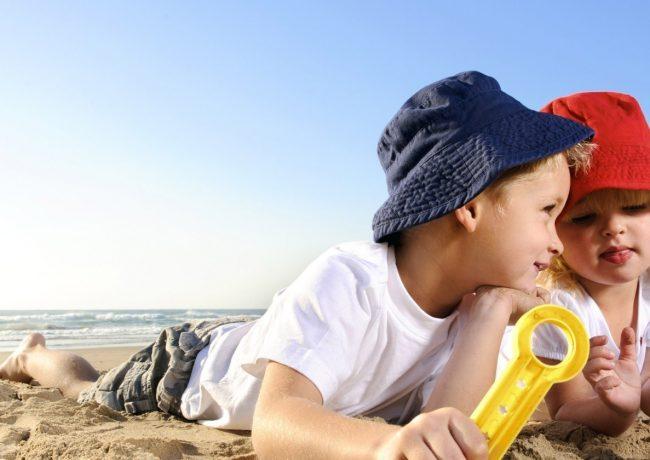 I benefici del mare per i bambini