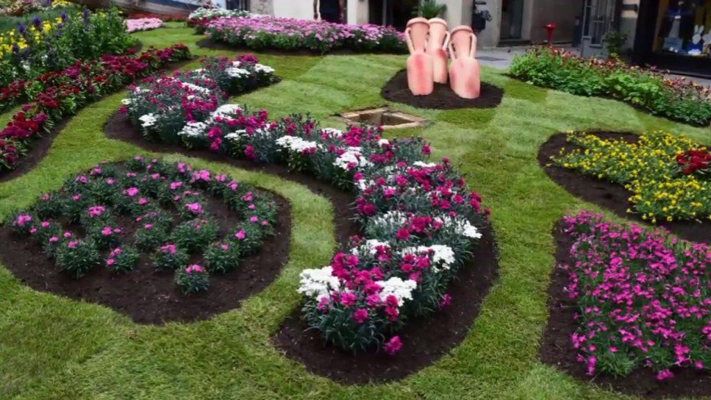 Aiuole fiorite per Fior d'Albenga Cip&Vip