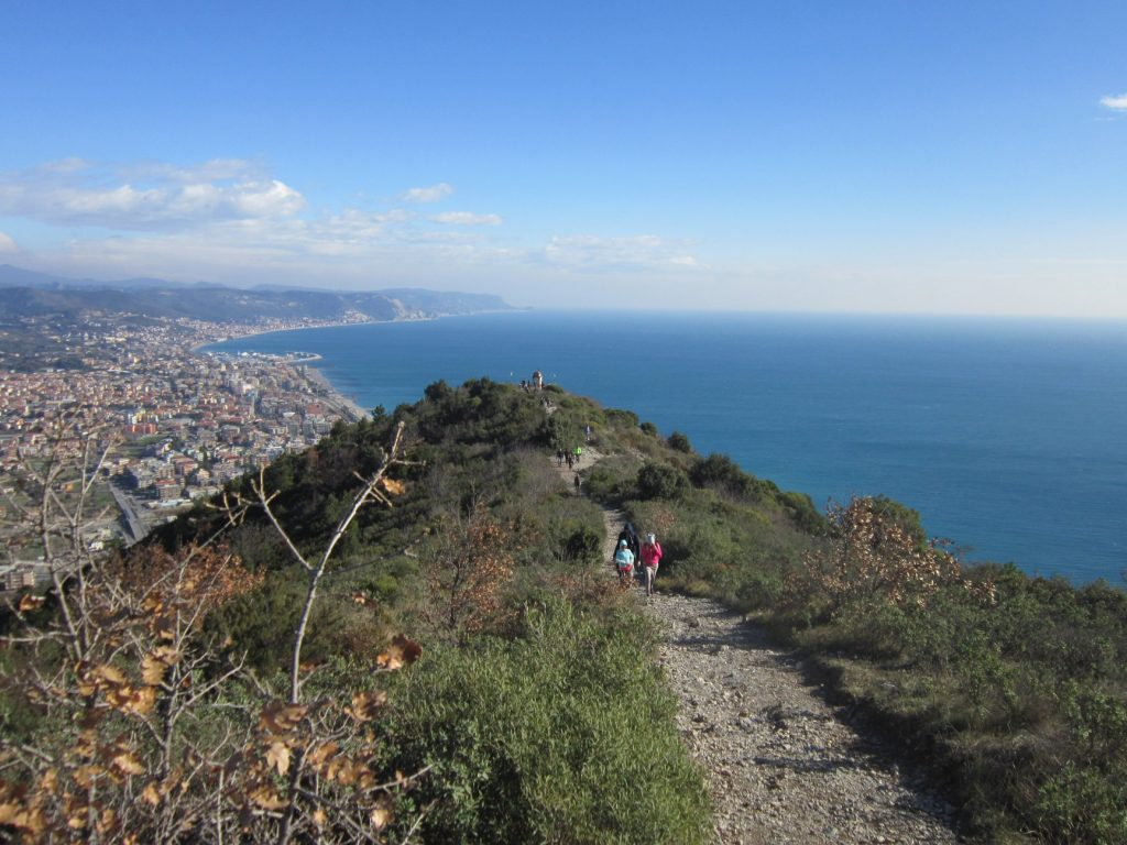 seaview trekking on italian riviera