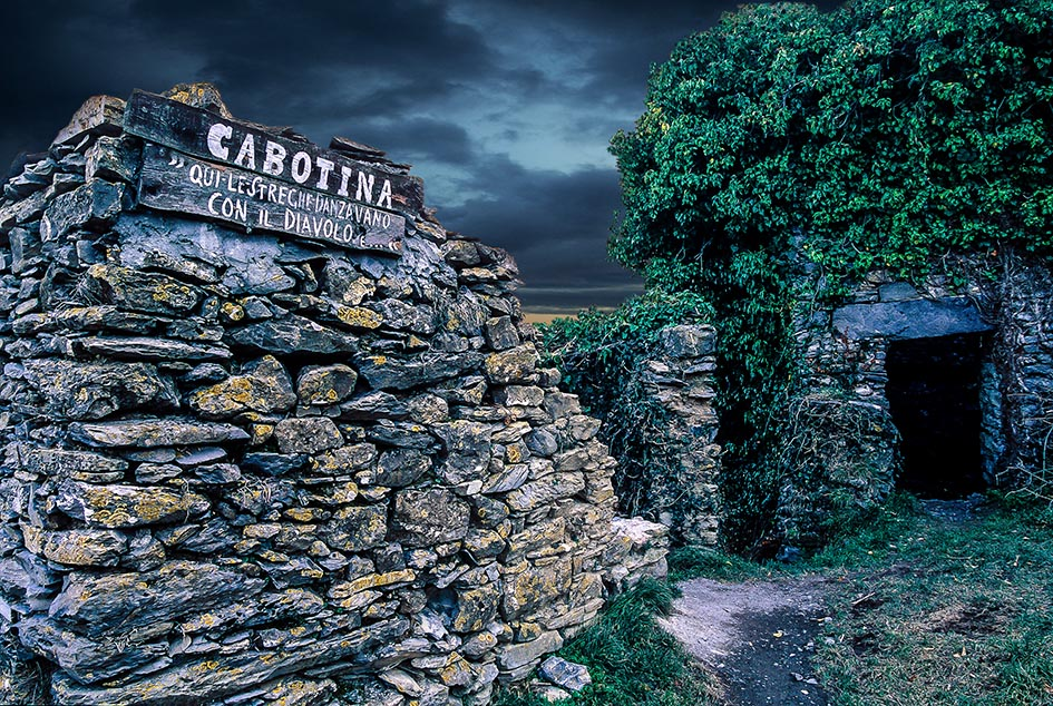Cabotina, the house of witches in Triora