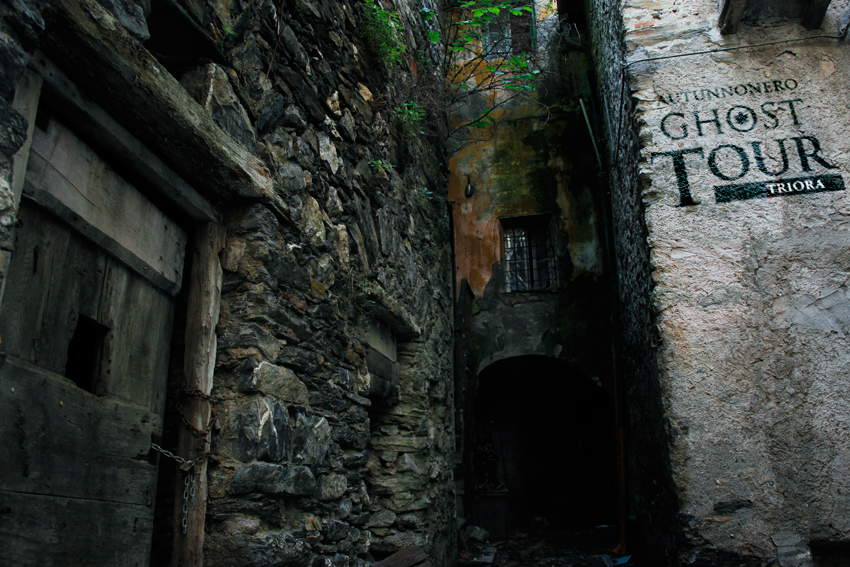 the famous ghost tour in Triora