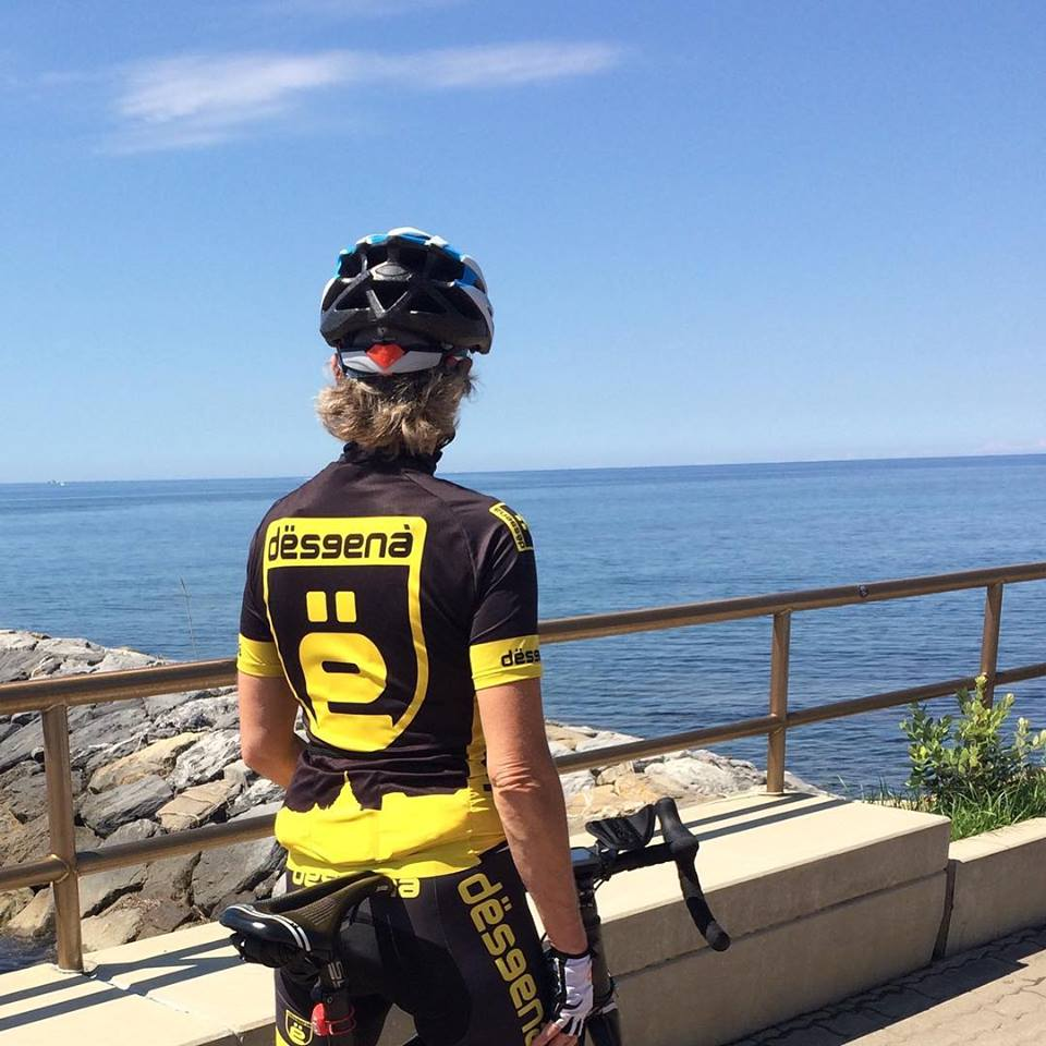 La pista ciclabile del Ponente Ligure