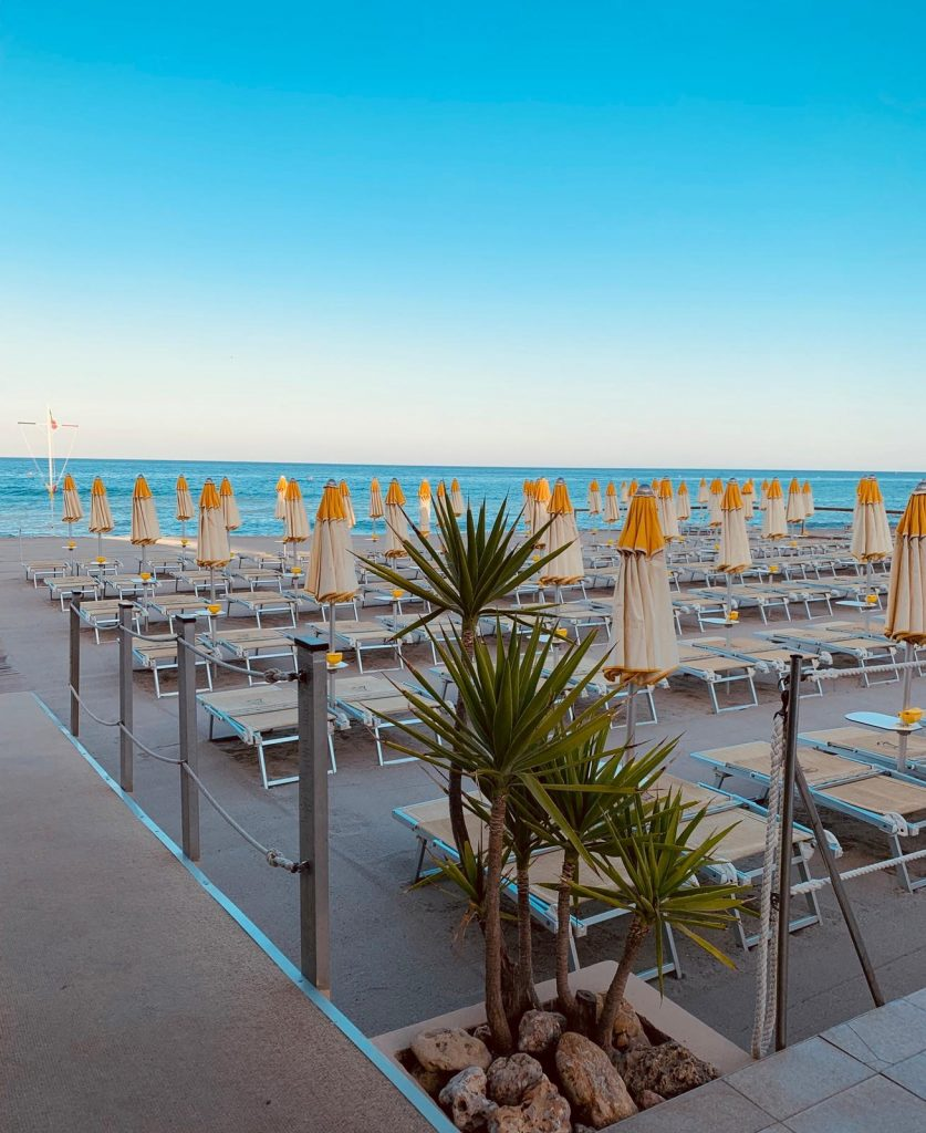 partner beach of residence Oliveto