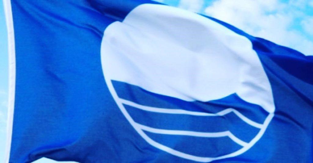 Blaue Flagge Ligurien