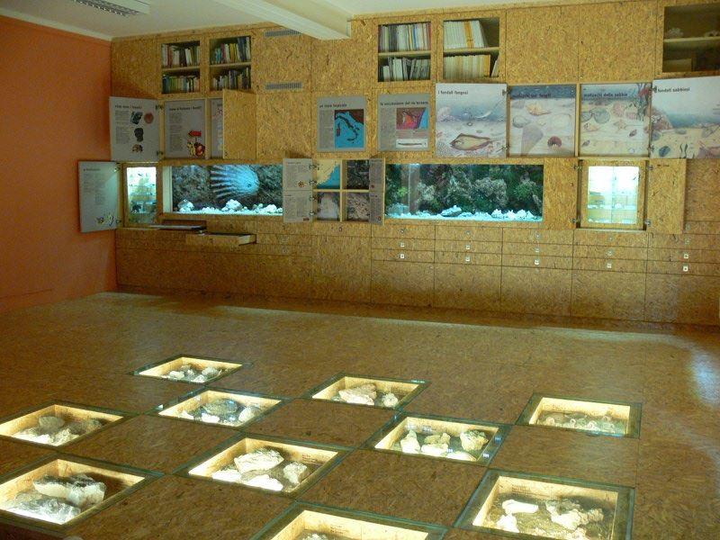sala multimediale museo S. Lai di Ceriale